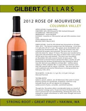 2012 Rose of Mourvedre