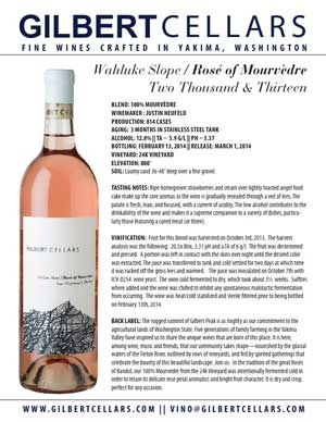 2013 Rose of Mourvedre
