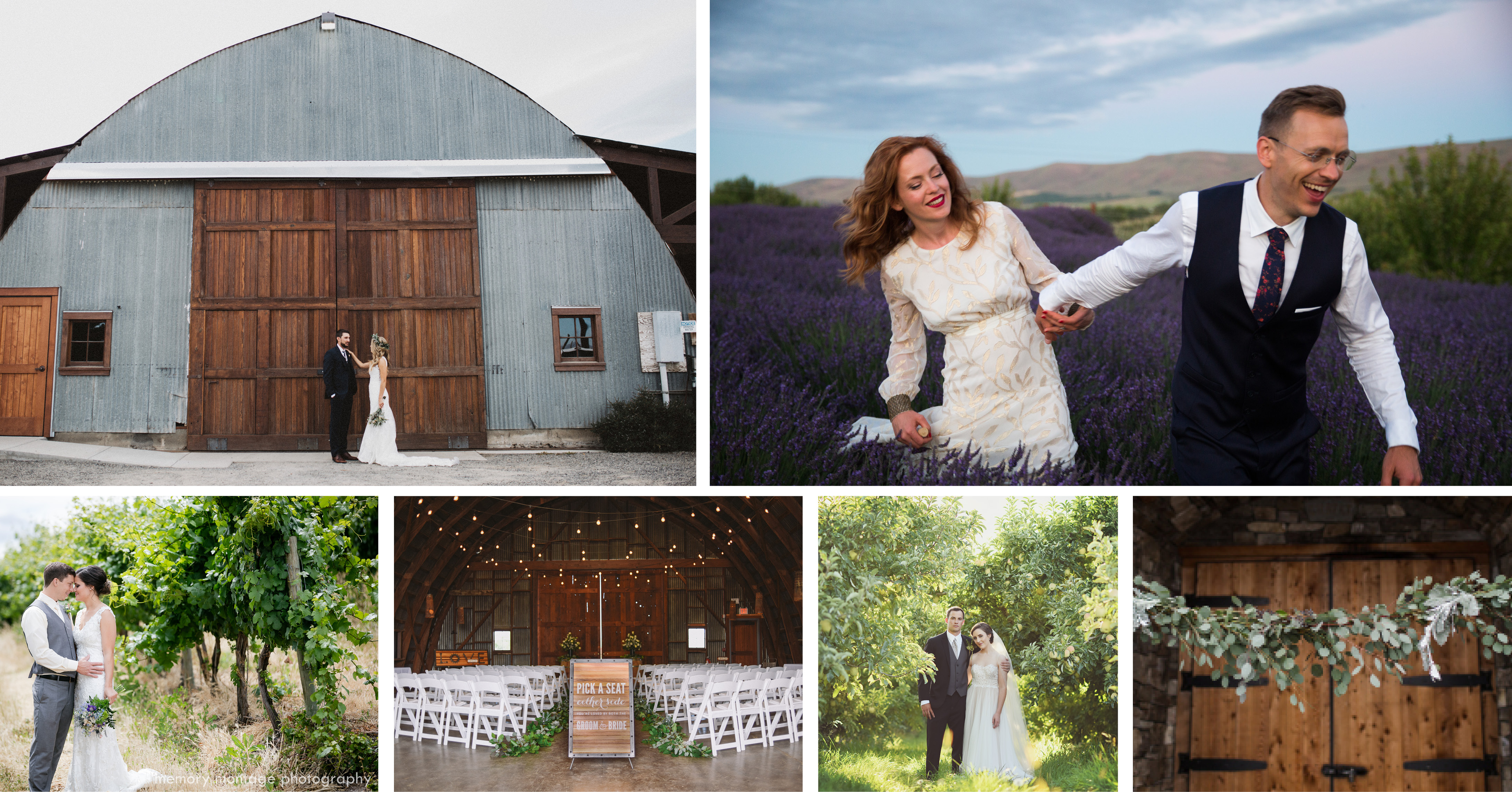 Of The Ahtanum Ridge Le Orchards Sunrise Vineyard Peaceful Cattail Lined Ponds And Rows French Lavender As Yakima Wedding Venues Go