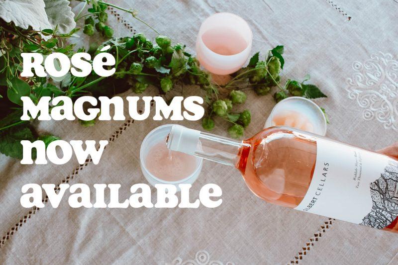 Rosé Magnums Now Available