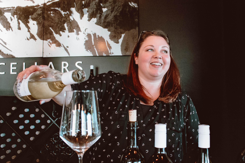Christina Whipple, tasting room manager