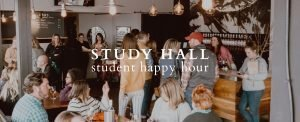study hall: student happy hour