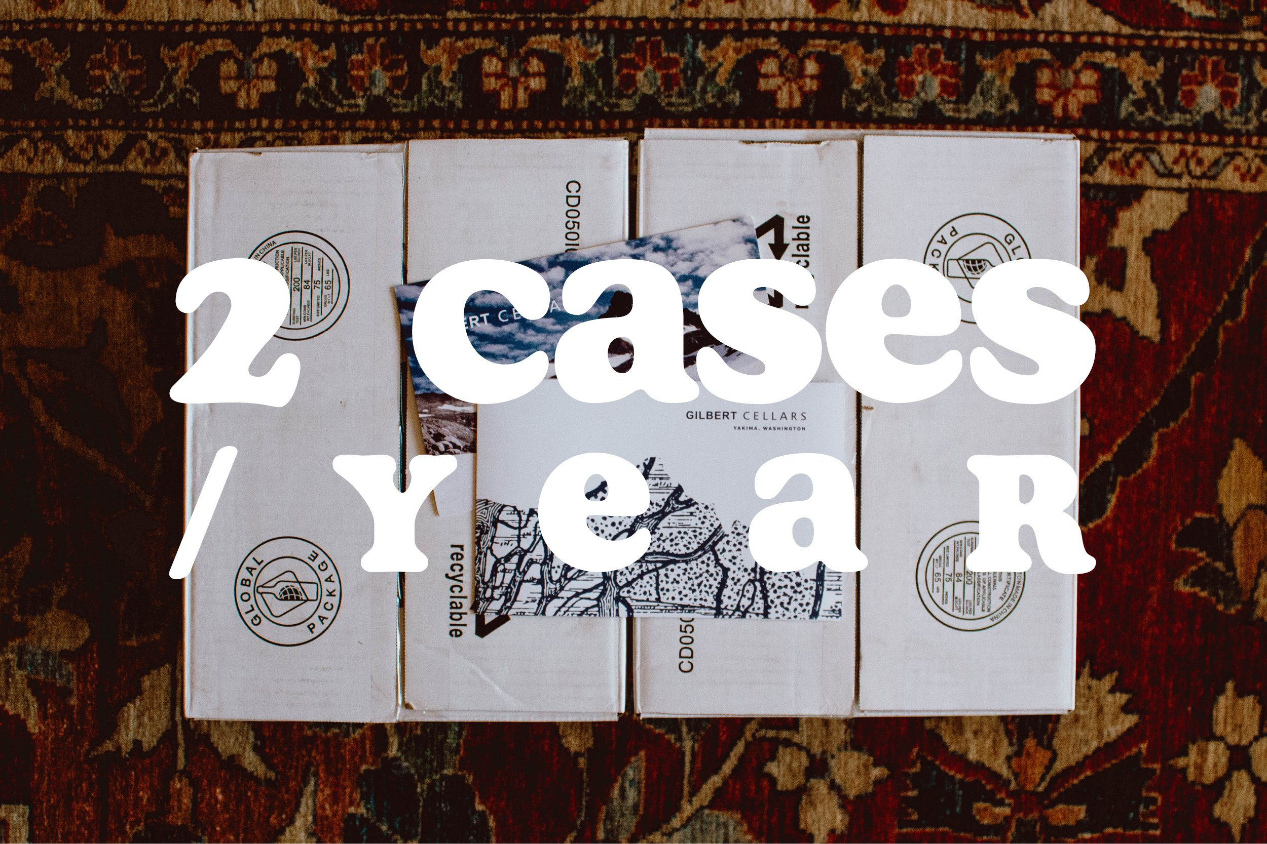 Two cases per year.