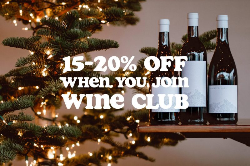 Join Wine Club and Save