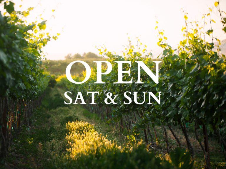 winery sat sun